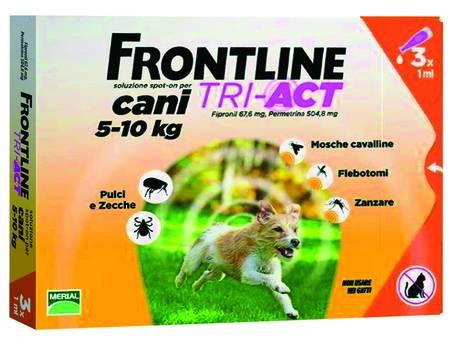 "FRONTLINE TRI-ACT SPOT-ON PER CANI ""S"""