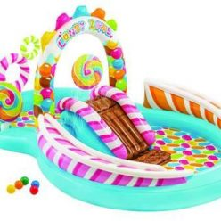 "PISCINA GONFIABILE ""CANDY ZONE PLAY CENTER"" +3 ANNI INTEX"